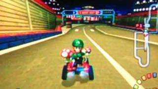 Mario Kart Double Dash!! - Time Trial - Mushroom City