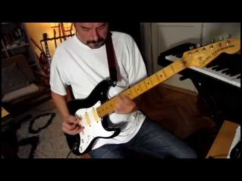 Squier JV Stratocaster with EMG pickups - YouTube