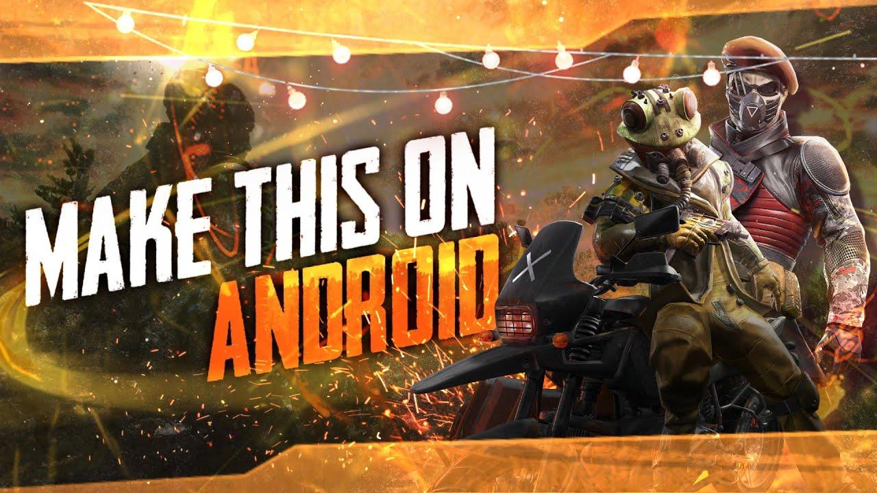 How To Make Pubg Season 10 Thumbnail Like Professional Make Gaming Thumbnail On Android Ps Touch