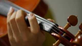 """I played """"Startear"""" the ED of """"Sword Art Online"""" by Violin!! Please..."""