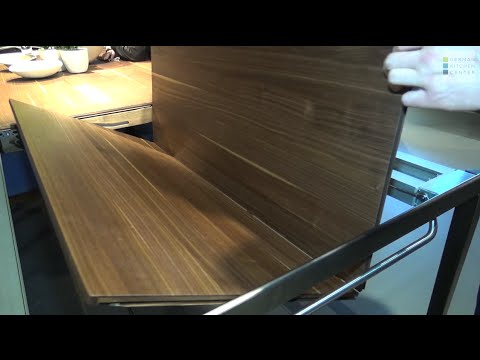 team 7 at eurocuchina tak extendable dining table youtube. Black Bedroom Furniture Sets. Home Design Ideas