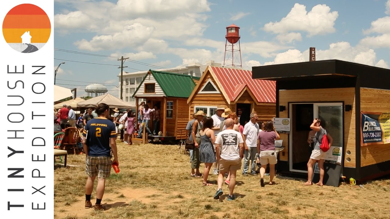 Tiny House Expedition On The Green Pop Up Tiny House