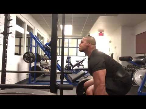 Deadlifts on the reservation