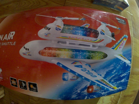 BIG MACINAIR AIRBUS A388 Sound And LED Light Unboxing Toys