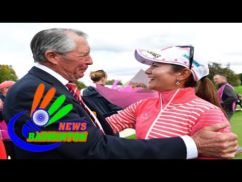 Ai miyazato's emotional farewell to competitive golf 'a great moment'