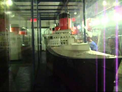 Tour of the Queen Mary in Long Beach, California