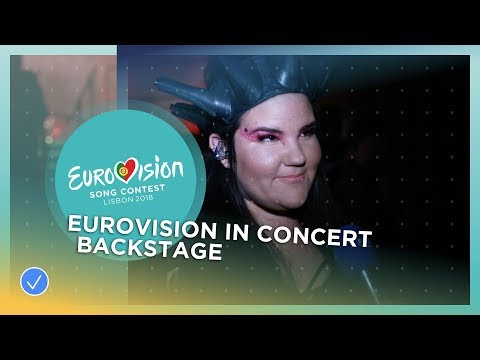 Backstage at Eurovision In Concert