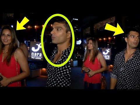 OMG ! Karan Singh Grover and Bipasha Basu stronly ignoring each other infront of media ? |Shocking