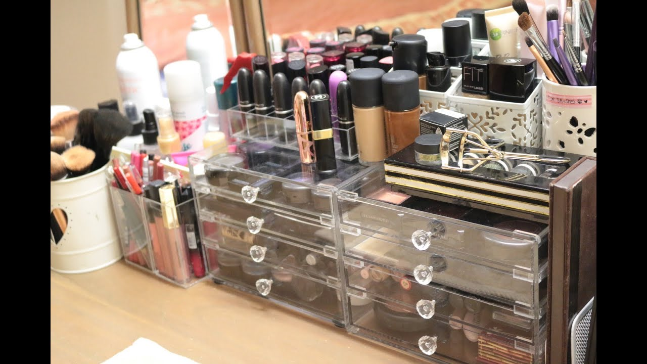 & Makeup Collection and Storage 2014 :) - YouTube