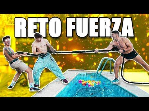 RETO DE FUERZA vs SALVA, LOGAN G Y TARIFA