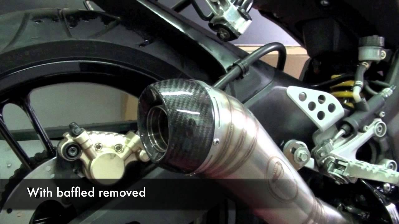 Turbo Kit Tk Carbon Gp Exhaust System Yamaha Yzf R125