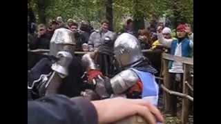 Историческое фехтование (меч-меч)