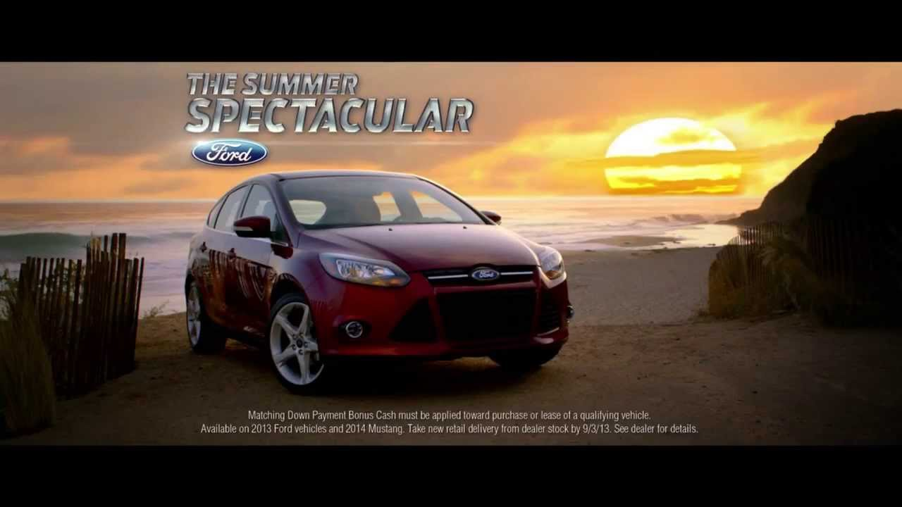 ford rent location voiture publicit pour ford focus. Black Bedroom Furniture Sets. Home Design Ideas