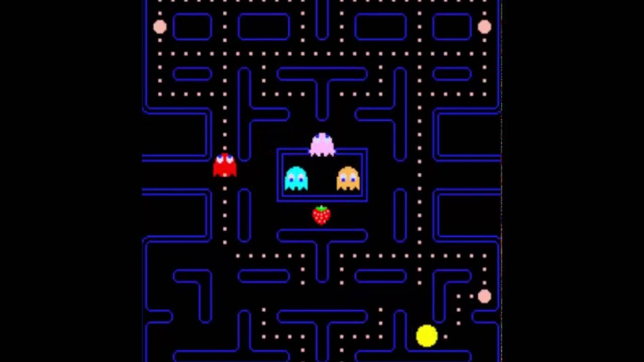 This is a graphic of Gutsy Pac Man Picture