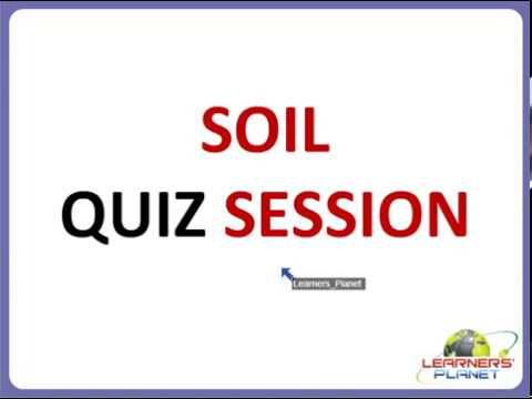 CBSE class 4 science Soil questions & answers