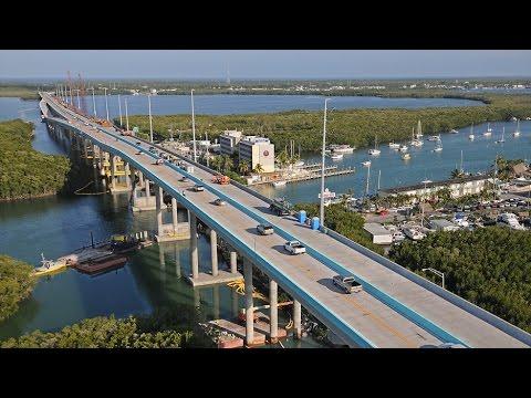 Drive To Key Largo, Florida
