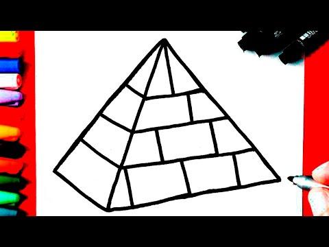 Como Desenhar Uma Piramide Youtube