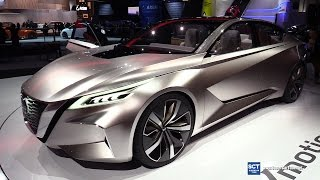 2018 Nissan Vmotion 2.0 Concept - Exterior and Interior Walkaround - Debut at 2017 Detroit Auto Show