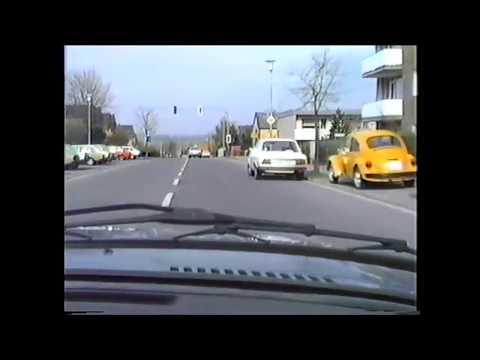 Mettmann 1980 von B7  nach Mettmann schwarzbachstrasse über Kaldenberg