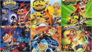 [HD] Crash Bandicoot Xbox Evolution (2001-2008)