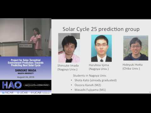 Shinsuke Imada | Nagoya University | Project for Solar-Terrestrial Environment Prediction...