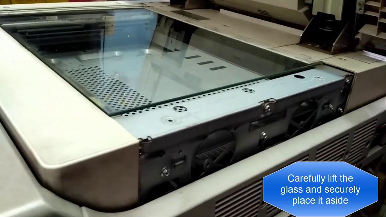 Canon iR Photocopier / Xerox Scanner Dust Cleaning - Laser Light Unit