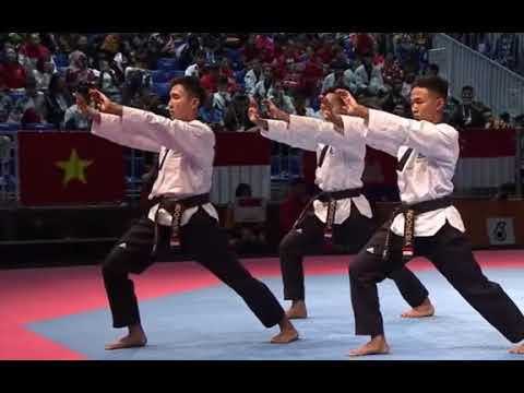 Aksi Atlet Taekwondo INDONESIA Membuat Semua Orang Tepuk Tangan Di Sea Games 2017