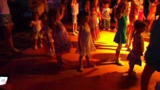 Марина на детской дискотеке в Турции.2011.