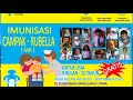 Tanggapan Dokter soal Anak Lumpuh Pasca Imunisasi Campak dan Rubella (MR)