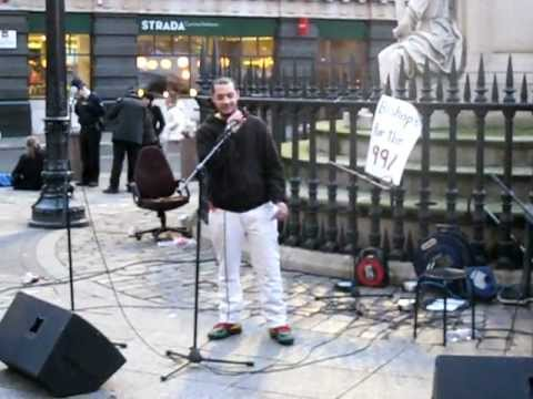 Adrian Pompey: New rap at Occupy London Stock Exchange 28/02/12