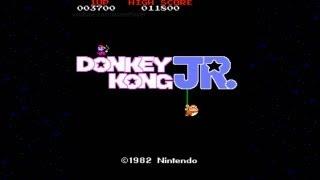 Donkey Kong JR. 1982 Nintendo Mame Retro Arcade Games