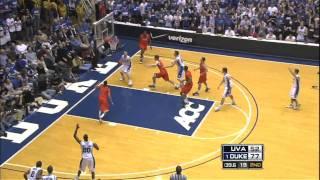 Top 5 Plays - Duke vs. Virginia (2/1/09)