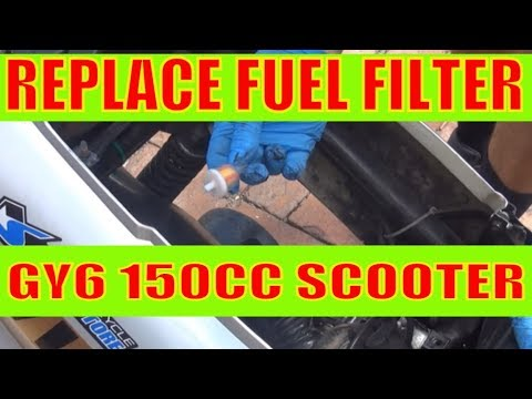 How To Change Fuel Filter And Fuel Line To A Chinese