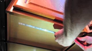 Led Strip Lighting Kit For Kitchen Cabinets - How To Install