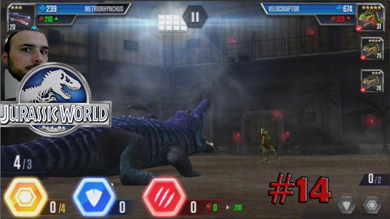 Metriorhynchus vs Velociraptor - Jurassic World # 14