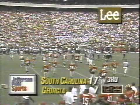 1993 South Carolina at Georgia