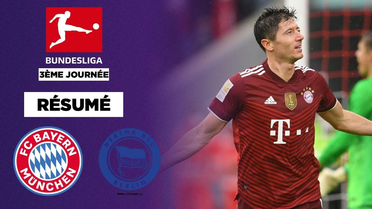 Download Résumé : Avec Lewandowski, le Bayern Munich colle une manita au Hertha Berlin !