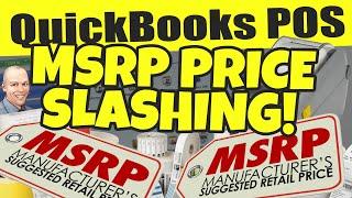 Quickbooks pos: msrp price slashing!