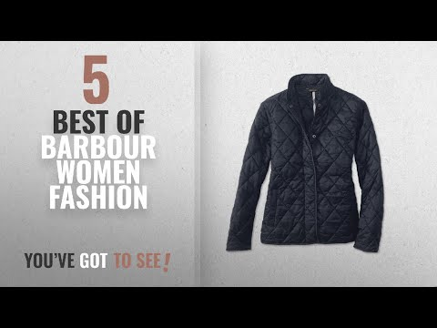 Barbour Women Fashion [2018 Best Sellers]: Barbour Women's Rae Loch Quilted Jacket Medium Navy (Size