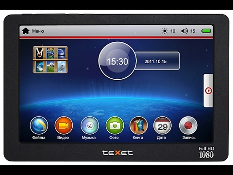 Обзор Texet T-939HD