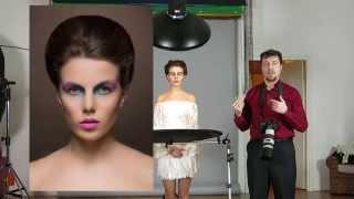 Фотография для начинающих видео - Съемка с портретной тарелкой