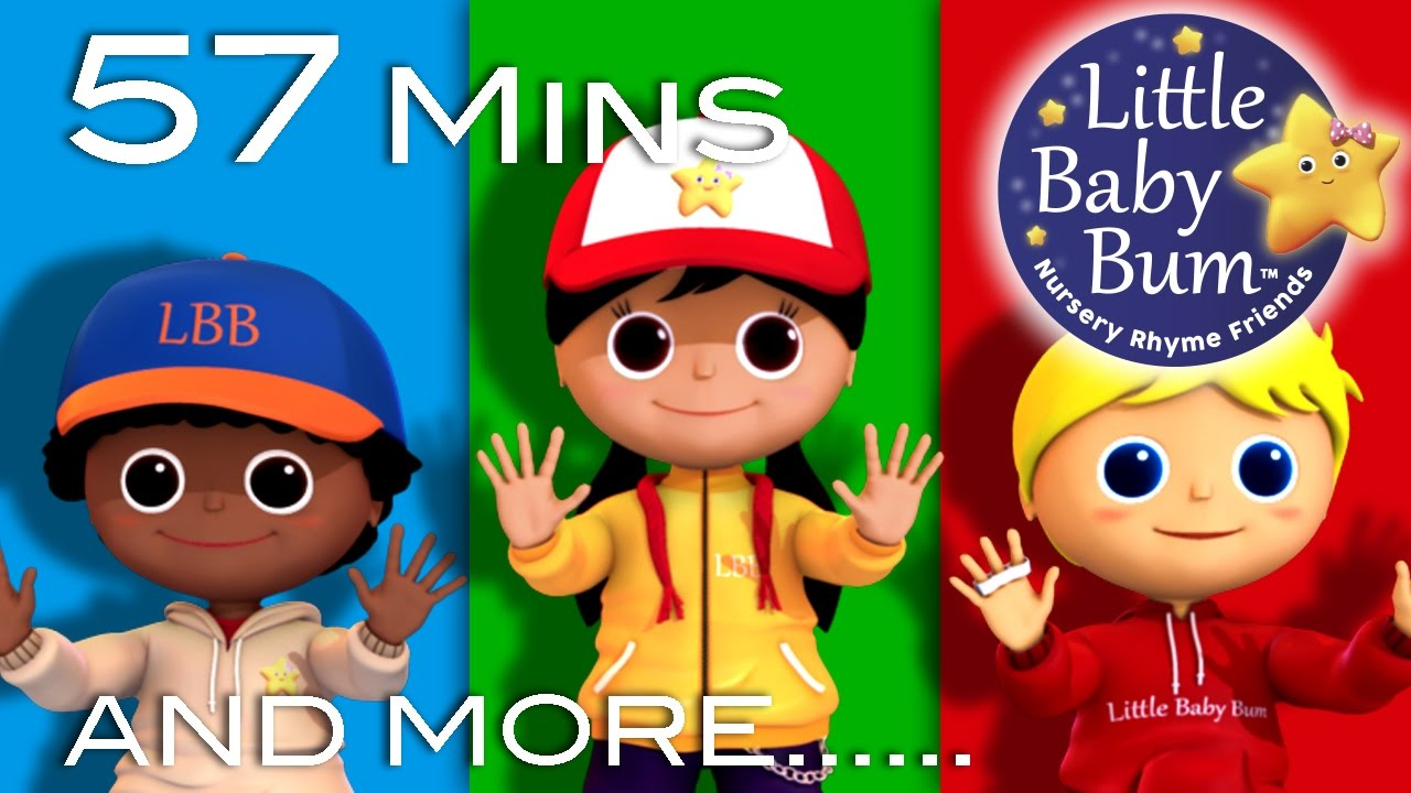 Open Shut Them Plus Lots More Nursery Rhymes 57 Minutes Compilation From Littlebaby You