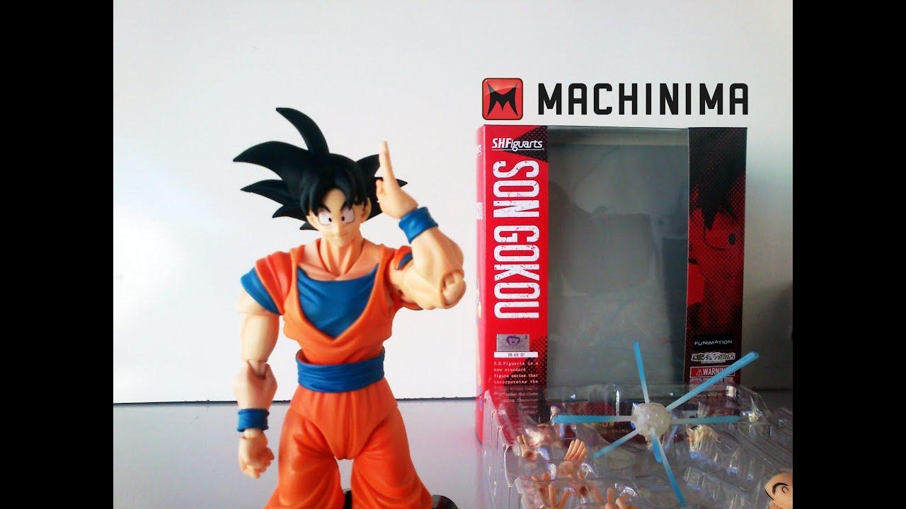 [PT-BR] Son Goku - Boneco S.H. Figuarts (Dragon Ball Z ...