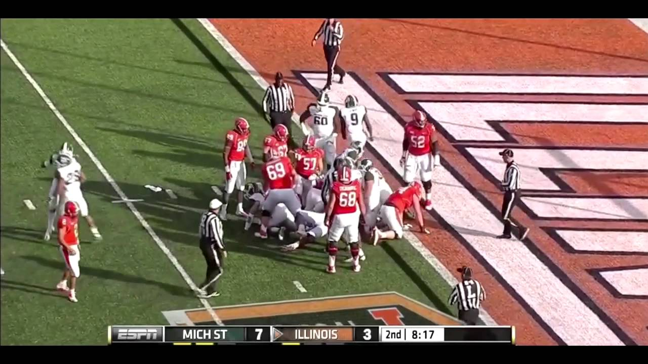 How Michigan State football's defense gave the game away, then ...