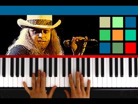 How To Play Sweet Home Alabama Piano Tutorial Sheet Music