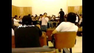 -- Jiang Guoji -- Ensaio da Orquestra Sinfônica de Zhejiang.