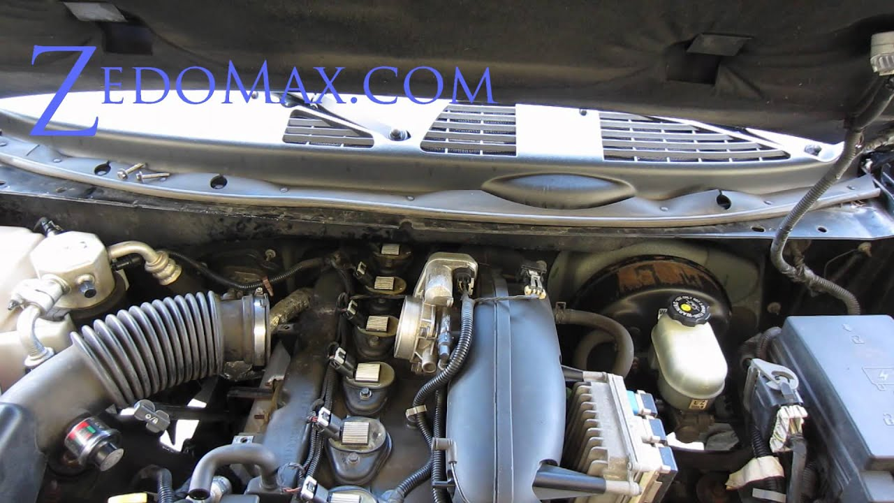 maxresdefault how to replace ignition coil spark plugs on chevy trailblazer  at alyssarenee.co