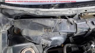 Замена радиатора отопителя(печки) нового образца ВАЗ 2110, 2111, 2112
