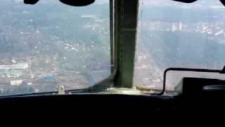 Посадка в Быково 7 04 2010