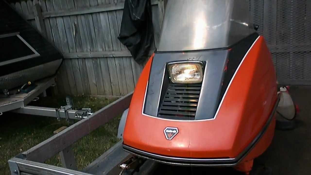 1973 Moto Ski Capri 440 - YouTube